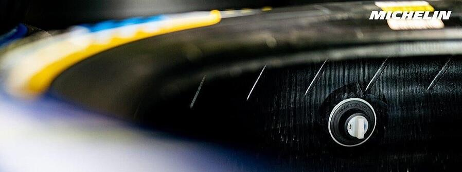 Pneus Michelin : chaine d'acquisition radio-fréquence