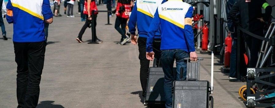 Peli, valises de protection ultra résistantes Michelin pour intégrer les datas des pneus connectés