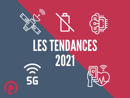 tendances IoT satellite IA 5G smart health